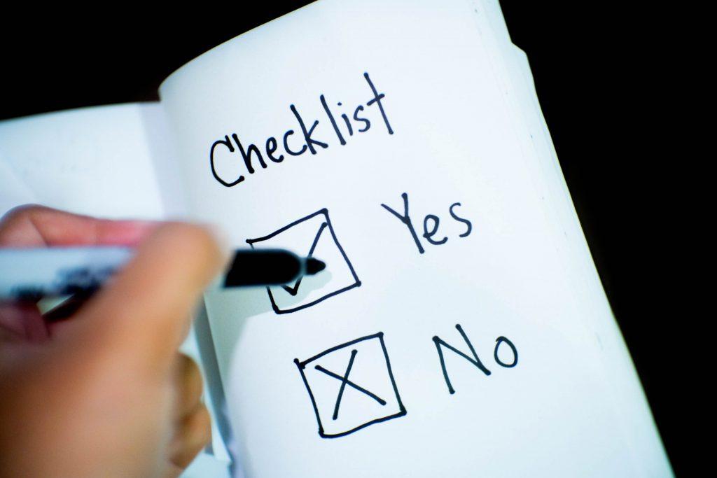 checklist auto kopen